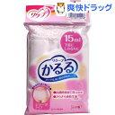 リクープ かるる 15mL ショーツタイプ ピンク Lサイズ(1枚入)【かるる】[大人用 紙おむつ]【送料無料】