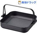 彩食庵 鉄角型焼肉&すきやき鍋 26 26cm SM-8557(1コ入)
