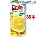 ドール グレープフルーツジュース100%(200mL 36本入)