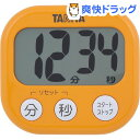 タニタ でか見えタイマー アプリコットオレンジ TD-384-OR(1台)