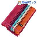 林 ポルト ストライプ&チェック ウォッシュタオル ピンク WE700202(1枚入)