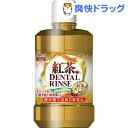紅茶カテキン デンタルリンス ノンアルコール 低刺激(500mL)
