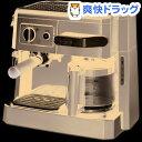 デロンギ コンビ・コーヒーメーカー ブラック BCO410J-B(1台)【デロンギ】[コーヒーメーカー デロンギ キッチン用品]【送料無料】