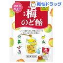 カンロ 健康梅のど飴(80g)
