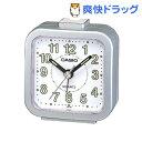 カシオ 置時計 シルバーメタリック TQ-141-8JF(1コ入)