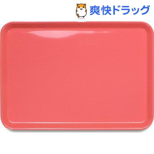 ピノ ノンスリップトレー 33cm 角 ピンク(1枚入)