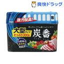 炭番 強力脱臭剤 冷蔵庫用 大型 2595(300g)