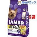 アイムス 7歳以上用 小型犬用 チキン 小粒(1kg*6コセット)【アイムス】【送料無料】