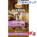 NC ワイルドレシピ 成犬用 鹿肉(4Kg)【ニュートロ】【送料無料】