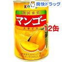 ショッピングマンゴー カンピー 南国果実 マンゴースライス(425g*12コ)【Kanpy(カンピー)】[缶詰]