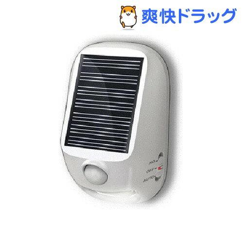 屋外用 ソーラー式 LEDセンサーライト NL57WH(1コ入)[照明]【送料無料】...:soukai:10235956