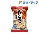 アマノフーズ 炙りたらこ雑炊(21.0g*1食入)【アマノフーズ】