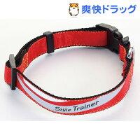 ペティオ スタイルトレーナー スプラッシュカラー レッド Mサイズ(1コ入)【ペティオ(Petio)】[犬 首輪]