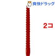カメヤマキャンドル 12インチスパイラル ダークレッド(1コ入*2コセット)【カメヤマキャンドル】