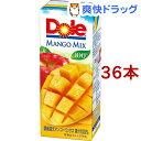 ショッピング野菜 ドール マンゴーフルーツミックス100%(200ml*36本入)