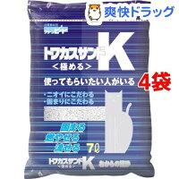 猫砂 おから トフカスサンドK(7L*4コセット) 【HLS_DU】 /【トフカスサンド】[猫砂 ねこ砂 ネコ砂 おから ペット用品]【送料無料】