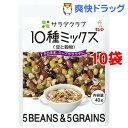サラダクラブ 10種ミックス 豆と穀物*10コ(40g10コセット)【サラダクラブ】