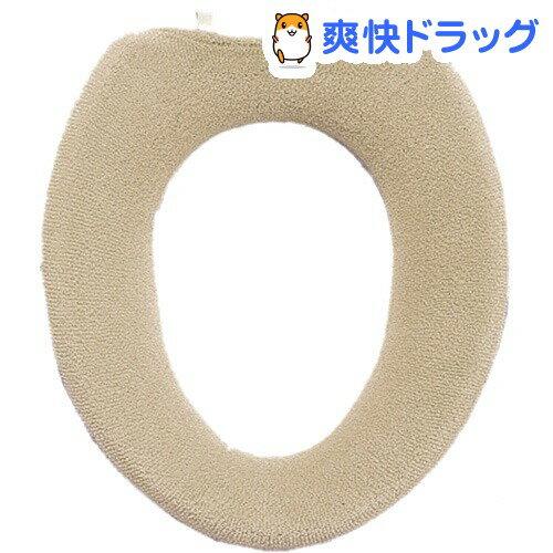 エトフ 洗えるO型便座カバー ベージュ(1枚入)【エトフ】