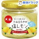 天塩 まろやか塩レモン(120g)【天塩】