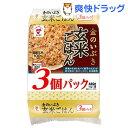 金のいぶき 玄米ごはん JR-7(160g*3食入)