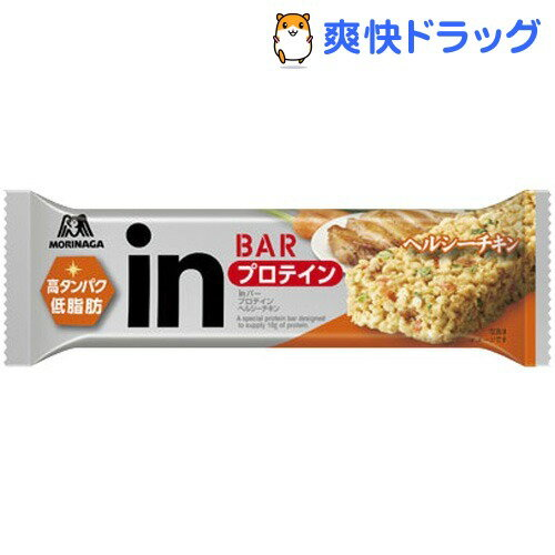 森永製菓 inバー プロテイン ヘルシーチキン(12本)【森永製菓】