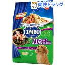 コンボ ドッグ 低脂肪 11歳以上 角切りささみ野菜ブレンド(230g 4袋入)【コンボ(COMBO)】
