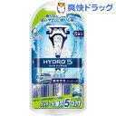 シック ハイドロ5 コンボパック 替刃5コ付(1セット)【シック】【送料無料】