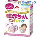 森永 E赤ちゃん エコらくパック つめかえ用(400g*2袋入)【E赤ちゃん】