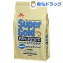 スーパーゴールド フィッシュ&ポテト ダイエットライト 体重管理用(2.4kg)【スーパーゴールド】【送料無料】