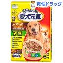 愛犬元気 7歳以上用 ささみ・緑黄色野菜・小魚入り(6kg)...