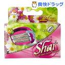 ドルコ Shai 6枚刃 女性用替刃式カミソリ 替刃(4コ入)【ドルコ】