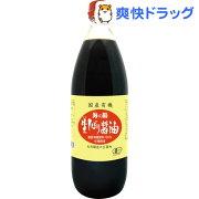 海の精 国産有機 生しぼり醤油(1L)【海の精】