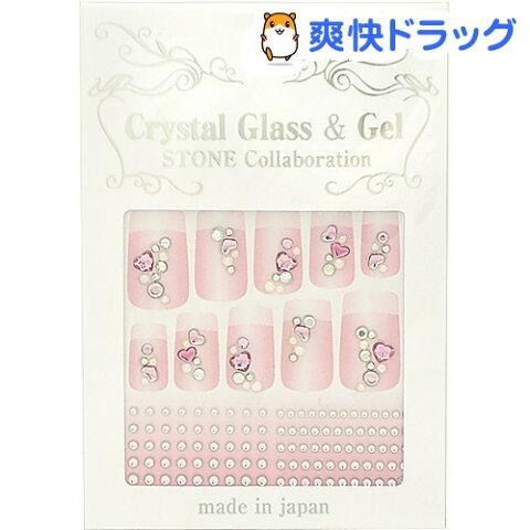 クリスタルガラス&ジェル ストーンコラボレーション PSS-18(1パック)【171013_soukai】【170929_soukai】[ネイルシール ネイルパーツ]