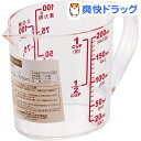 シンプルベーシック 耐熱計量カップ 200mL C-8938(1コ入)【シンプルベーシック】[キッチン用品]