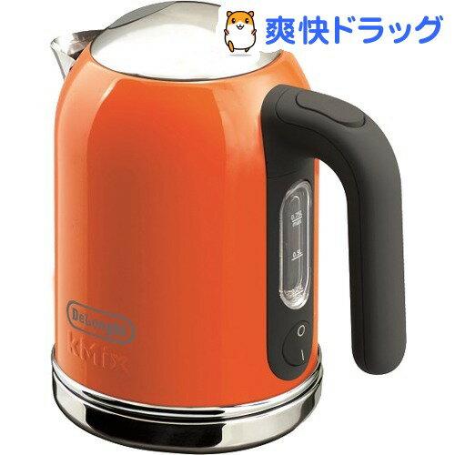 デロンギ ケーミックス 電気ケトル オレンジ SJM010J-OR(1コ入)【デロンギ】【送料無料】