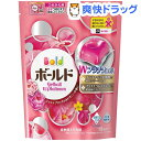 ボールドジェルボールWプラチナ プラチナブロッサム&ピオニーの香り つめかえ用(18コ入)【ボールド】