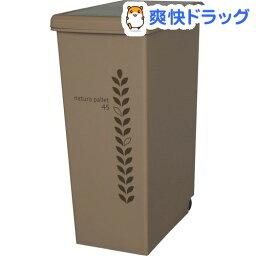 ゴミ箱 スライドペール 45L 日本製 サンドベージュ C-716(1コ入)【送料無料】
