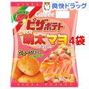 ピザポテトこっくり明太マヨ Pizza味(60g*4コセット)