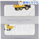 NEWCASTLE CLASSICS バンブーブランケット Yellow Digger&White(1枚)【ニューキャッスルクラシックス】