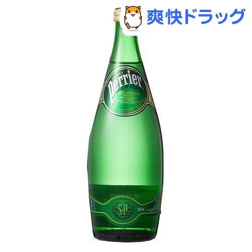 ペリエ ナチュラル 炭酸水(750mL*12本入)【ペリエ(Perrier)】[炭酸水 送料無料 ミネラルウォーター 水]【送料無料】