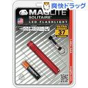 マグライト ソリテールLED BP レッド SJ3A036(1台)【マグライト】【送料無料】
