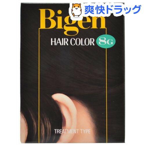 ビゲン ヘアカラー 自然な黒色 8G(40mL+40mL)【ビゲン】[白髪染め ヘアカラー…...:soukai:10026399