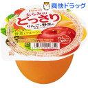 ショッピングスムージー たらみのどっさり りんごと野菜のスムージー(230g*6個入)【どっさりシリーズ】