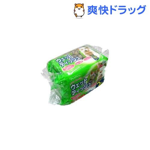 ペットプロ ウェットティッシュ(80枚*3コ入)【ペットプロ(PetPro)】[ペット ウ…...:soukai:10202314