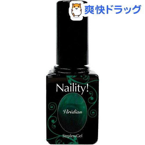 ネイリティー ステップレスジェル ビリジアン 091(7g)【Naility!(ネイリティー)】