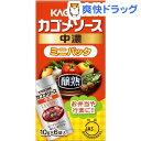 カゴメ 醸熟ソース ミニパック 中濃(10g*6)【カゴメソース】