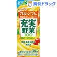 充実野菜 完熟バナナ&ヨーグルトミックス 紙(200mL*24本入)【充実野菜】【送料無料】