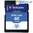 バーベイタム SDHCカード 32GB CLass4 SDH...