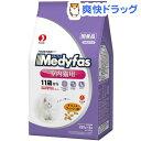 メディファス インドアキャット 11歳から 老齢猫用 チキン&フィッシュ味(280g*5袋入)【メディファス】[キャットフード ドライ 下部尿路 国産]