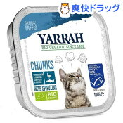 ヤラー チキンと魚のキャットチャンク(100g*12コセット)【ヤラー】【送料無料】